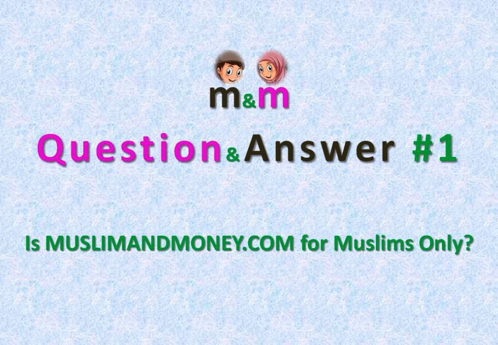 Question&Answer #1