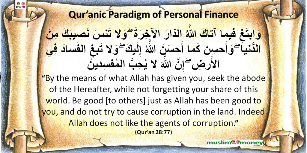 Qur'anic Paradigm of Personal Finance